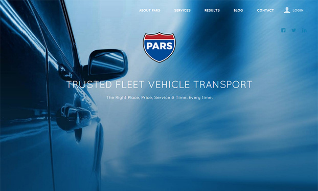 PARS new website unveiled